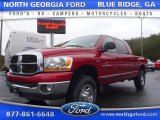 2006 Inferno Red Crystal Pearl Dodge Ram 1500 SLT Mega Cab 4x4 #109582317
