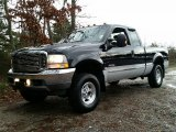 2003 Black Ford F250 Super Duty Lariat SuperCab 4x4 #109637006