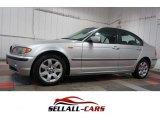 2004 Titanium Silver Metallic BMW 3 Series 325xi Sedan #109654287