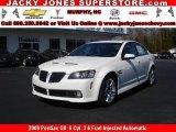 2009 White Hot Pontiac G8 Sedan #10935723