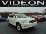 2010 Blizzard White Pearl Toyota Highlander Limited 4WD #109654413
