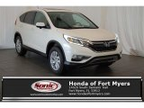 2016 White Diamond Pearl Honda CR-V EX #109661381