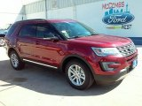 2016 Ruby Red Metallic Tri-Coat Ford Explorer XLT #109665401