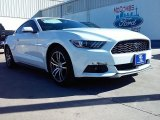2016 Oxford White Ford Mustang EcoBoost Coupe #109665394