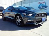 2016 Magnetic Metallic Ford Mustang EcoBoost Premium Coupe #109665393