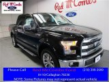 2016 Shadow Black Ford F150 Lariat SuperCrew #109665386