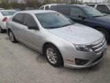 2011 Ingot Silver Metallic Ford Fusion S #109665445