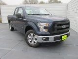 2016 Blue Jeans Ford F150 XL SuperCab #109665494