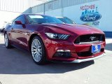 2016 Ruby Red Metallic Ford Mustang GT Premium Coupe #109665435