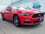 2016 Race Red Ford Mustang EcoBoost Premium Coupe #109665434