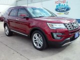 2016 Ruby Red Metallic Tri-Coat Ford Explorer Limited #109665431