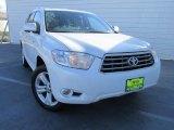 2010 Blizzard White Pearl Toyota Highlander Limited #109665508