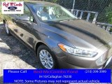 2016 Magnetic Metallic Ford Fusion S #109689108
