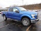 2016 Blue Flame Ford F150 XLT SuperCab 4x4 #109689232