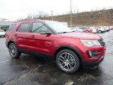 2016 Ruby Red Metallic Tri-Coat Ford Explorer Sport 4WD #109689230
