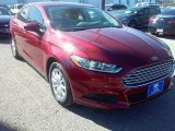 2016 Ruby Red Metallic Ford Fusion S #109689140