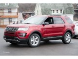 2016 Ruby Red Metallic Tri-Coat Ford Explorer XLT 4WD #109689284