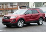 2016 Ruby Red Metallic Tri-Coat Ford Explorer 4WD #109689283