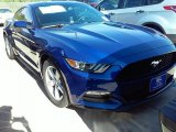 2016 Deep Impact Blue Metallic Ford Mustang V6 Coupe #109689125