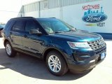 2016 Blue Jeans Metallic Ford Explorer FWD #109689122