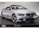 2013 Titanium Silver Metallic BMW 3 Series 335i Convertible #109689364