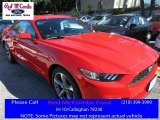 2016 Race Red Ford Mustang V6 Coupe #109689116