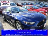 2016 Deep Impact Blue Metallic Ford Mustang V6 Coupe #109689112