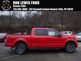 2016 Race Red Ford F150 XLT SuperCrew 4x4 #109689197