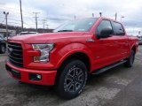 2016 Ford F150 Race Red