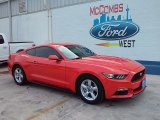 2016 Competition Orange Ford Mustang V6 Coupe #109723889