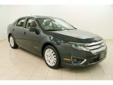 2010 Atlantis Green Metallic Ford Fusion Hybrid #109724192