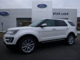 2016 Oxford White Ford Explorer Limited #109724228