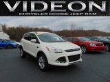 2013 Oxford White Ford Escape SE 1.6L EcoBoost #109757044