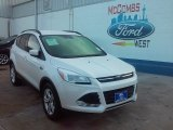 2016 White Platinum Metallic Ford Escape SE #109756763