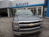 2014 Blue Granite Metallic Chevrolet Silverado 1500 WT Regular Cab #109756755