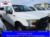 2016 Oxford White Ford F150 XL SuperCab #109784093