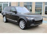 2016 Land Rover Range Rover Supercharged Front 3/4 View