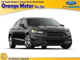 2016 Magnetic Metallic Ford Fusion S #109797439