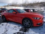 2016 Competition Orange Ford Mustang EcoBoost Premium Coupe #109797294