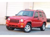 2002 Flame Red Jeep Liberty Limited 4x4 #109797706