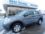 2014 Polished Metal Metallic Honda CR-V LX AWD #109797415