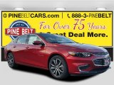 2016 Crystal Red Tintcoat Chevrolet Malibu LT #109797200