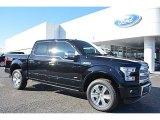 2016 Shadow Black Ford F150 Platinum SuperCrew 4x4 #109797384