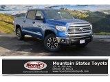 2016 Blazing Blue Pearl Toyota Tundra SR5 CrewMax 4x4 #109834315