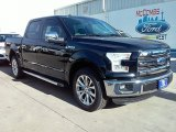 2016 Shadow Black Ford F150 Lariat SuperCrew #109834388