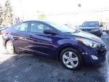 2012 Indigo Night Blue Hyundai Elantra GLS #109834457
