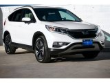 2016 White Diamond Pearl Honda CR-V Touring AWD #109834595