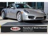 2012 Platinum Silver Metallic Porsche 911 Carrera S Coupe #109834661