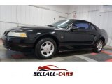 1999 Black Ford Mustang V6 Coupe #109834289