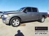 2010 Mineral Gray Metallic Dodge Ram 1500 SLT Crew Cab 4x4 #109834584